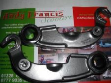 MB  DRUM BRAKE LINKS with  damper  fitment   stainless  steel